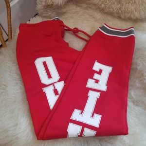 Pink sweatpants XS